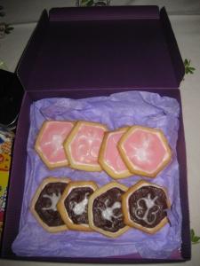Y por esto son personalizadas. ¡¡Y las mías de chocolate!!