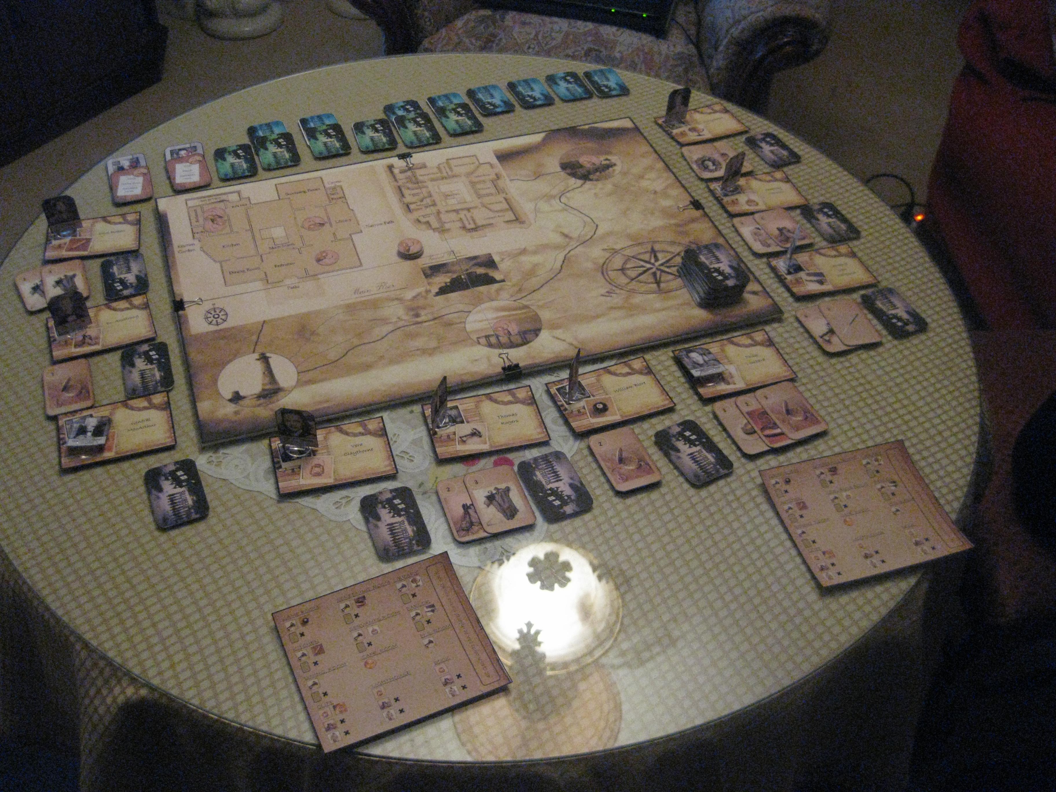 Proto juego de hoy 10 negritos jugando en pareja for 10 negritos juego de mesa