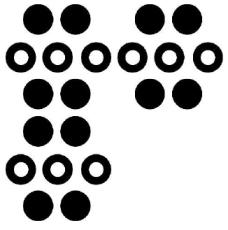 Un ejemplo de como colocar los tableros