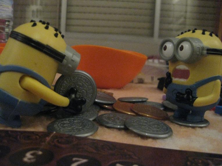 """Cogiendo monedas """"prestadas"""""""