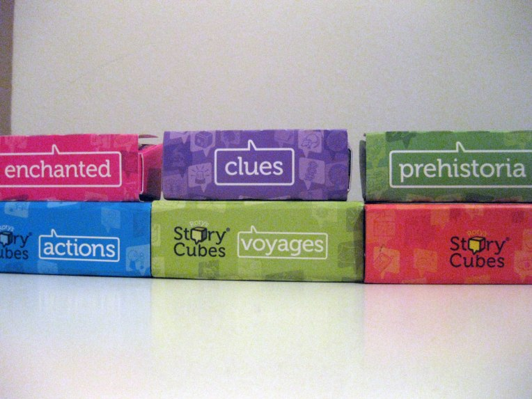 Cajas de Rory Story Cubes