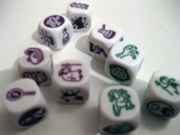 Mini expansiones Rory Story Cubes