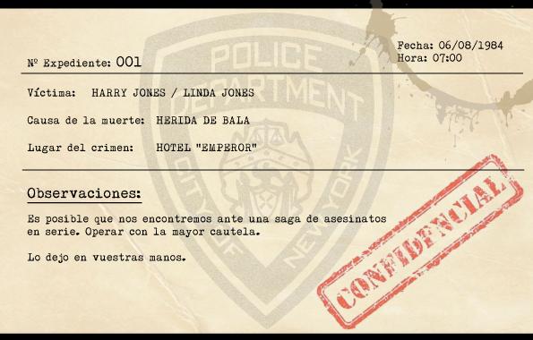 Ficha Policial 001