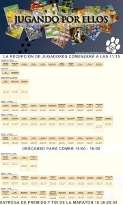 6ª JPE- Horario y plantel juegos